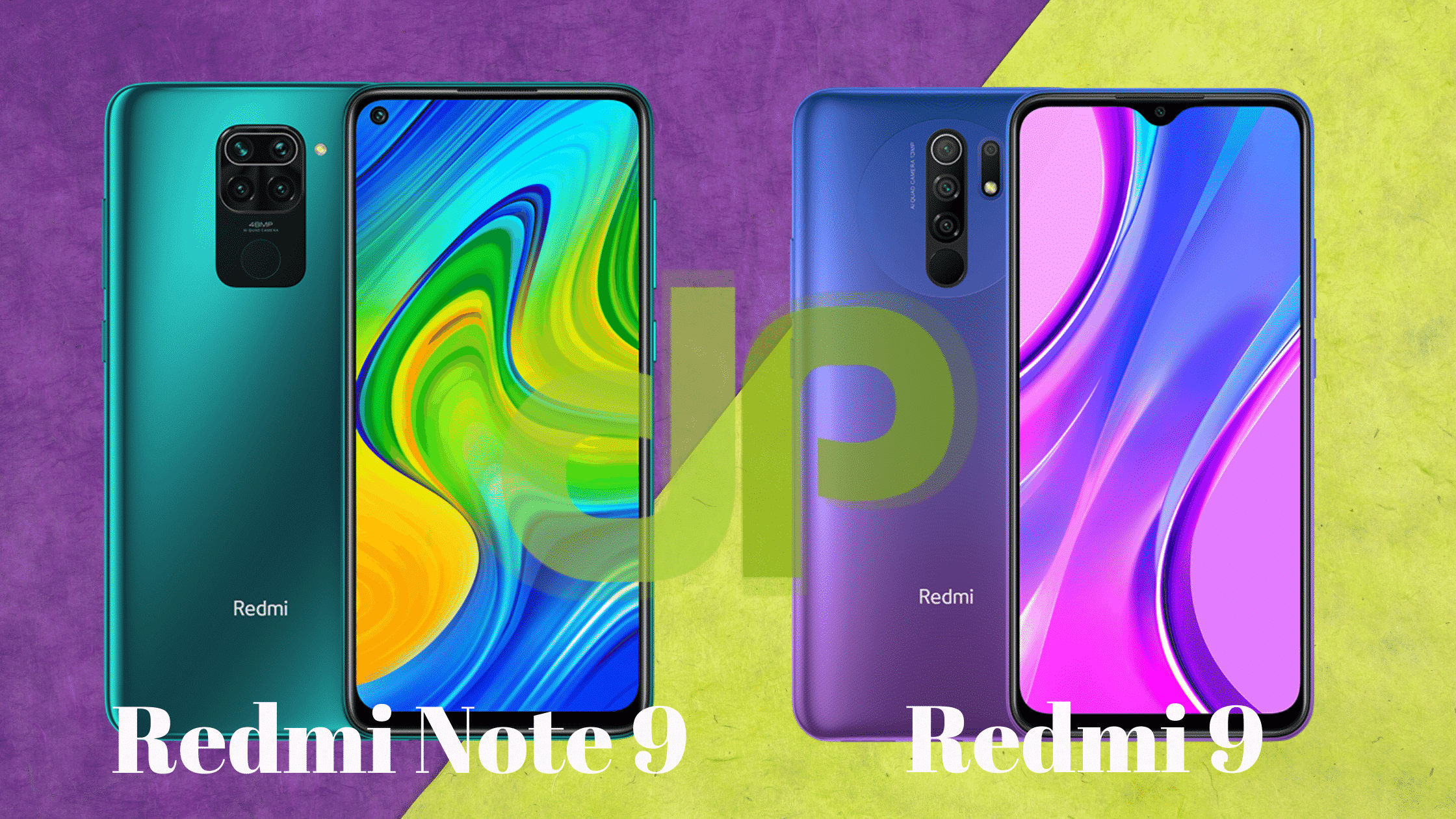 Redmi Note 9 vs Redmi 9