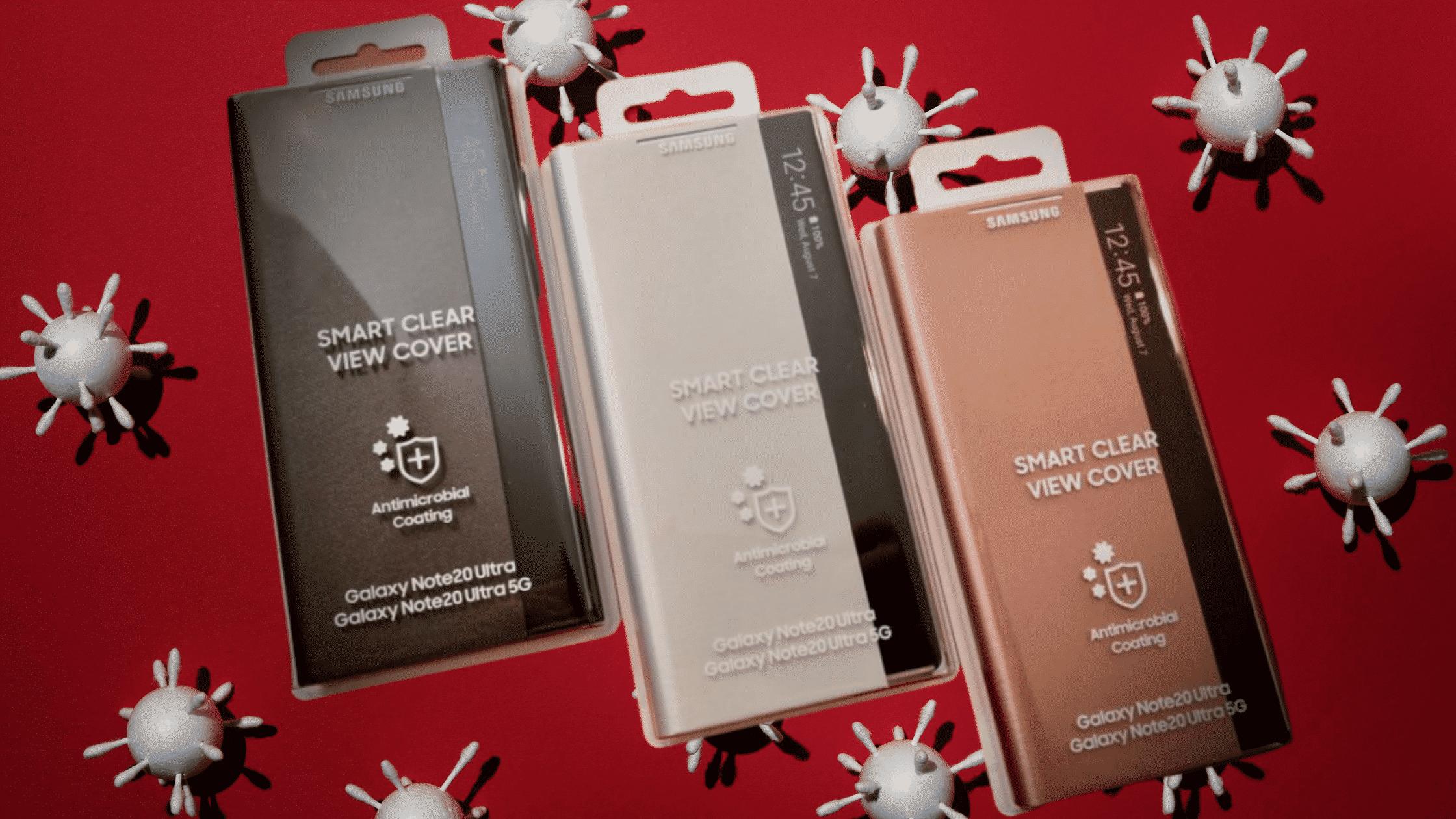 Samsung Galaxy Note 20 Ultra Antibacterial Flip Cover