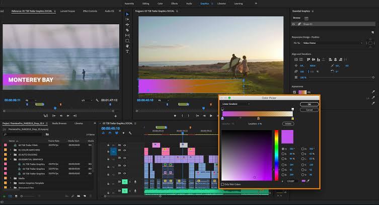 Adobe premier sofware edit video tanpa watermark
