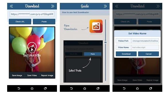 download video instagram dengan aplikasi downloader for instagram