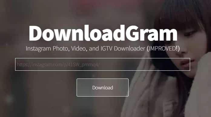 download foto dan video instagram melalui downloadgram