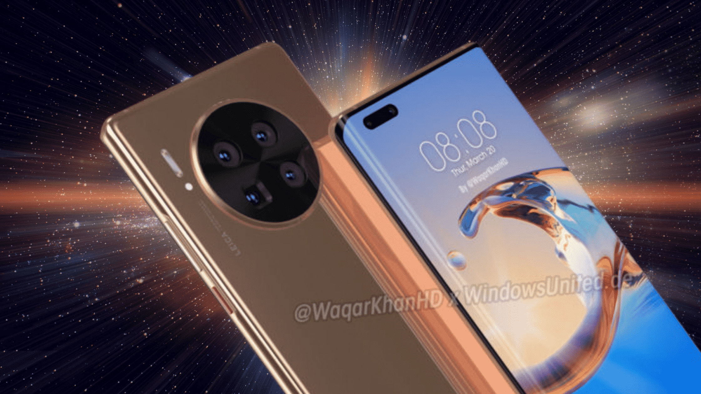 Desain Huawei Mate 40 Pro