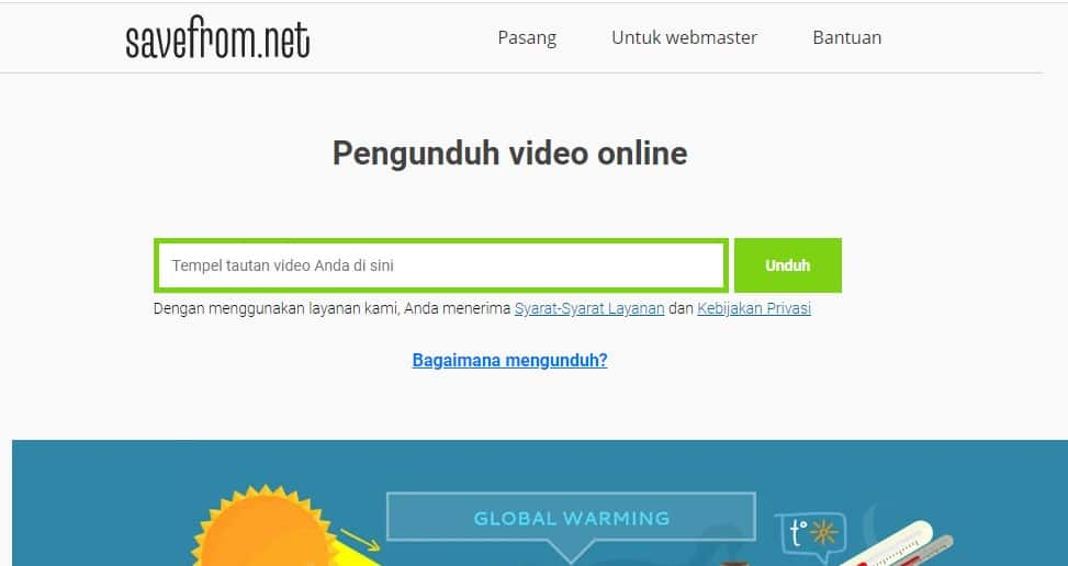 cara download film di laptop