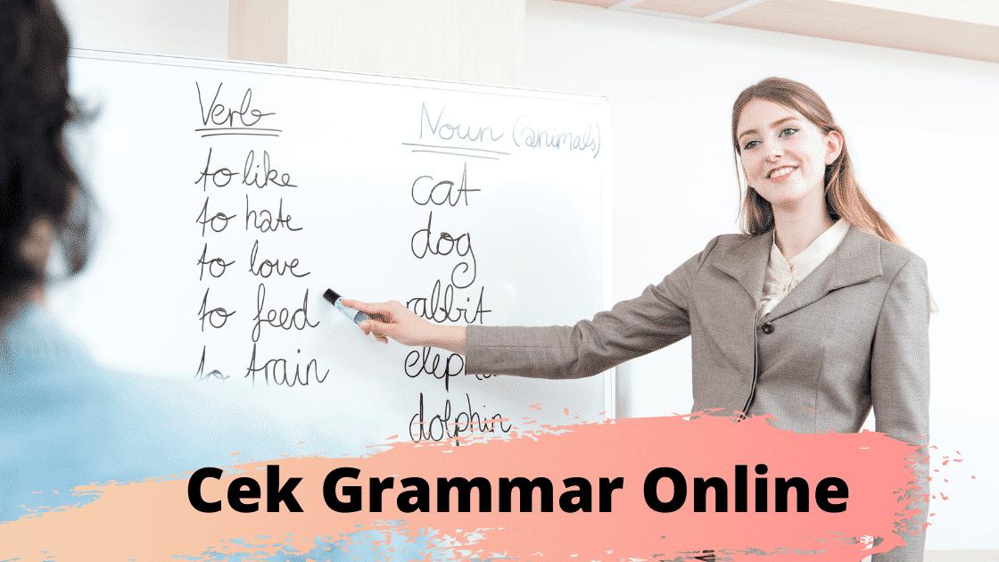 Cek Grammar Online