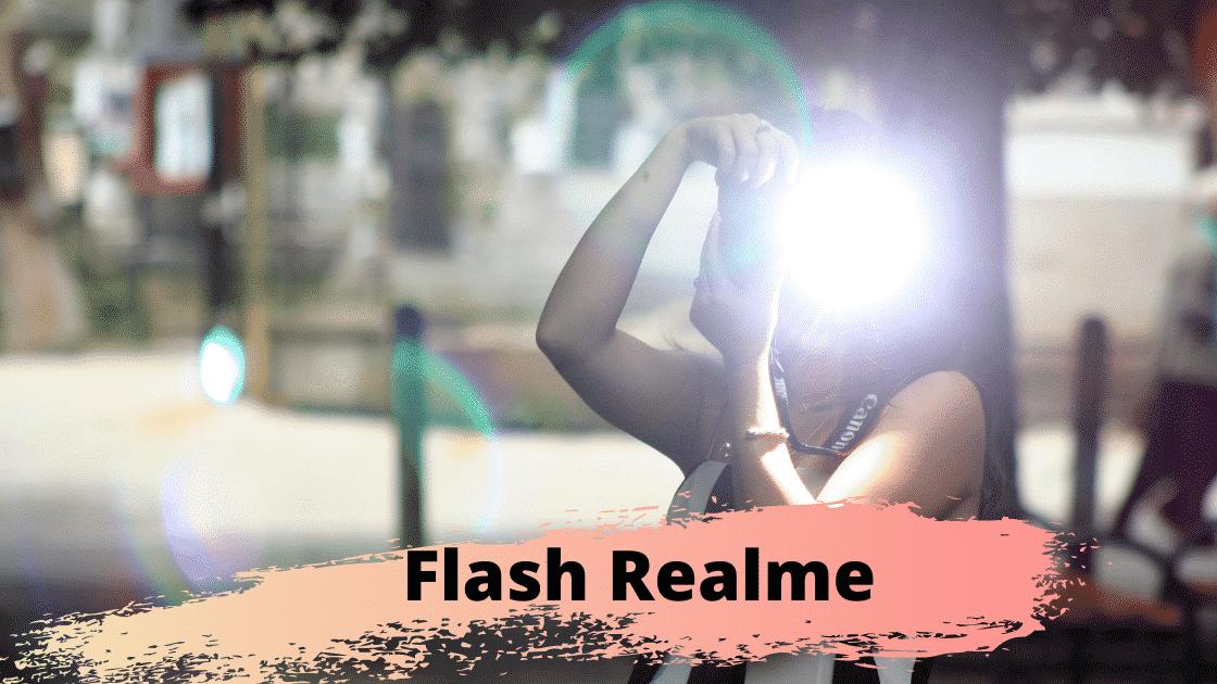 Mengaktifkan Flash Realme