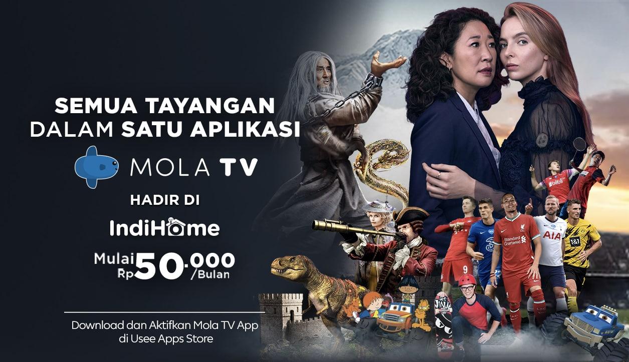 Molta TV ada di IndiHome