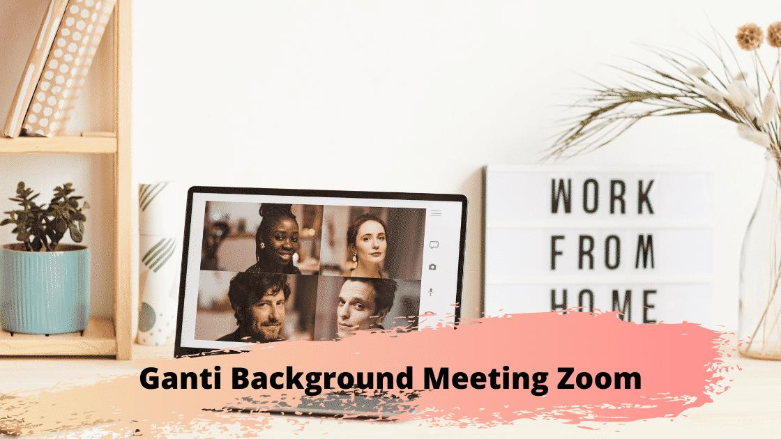 Ganti Background Meeting Zoom