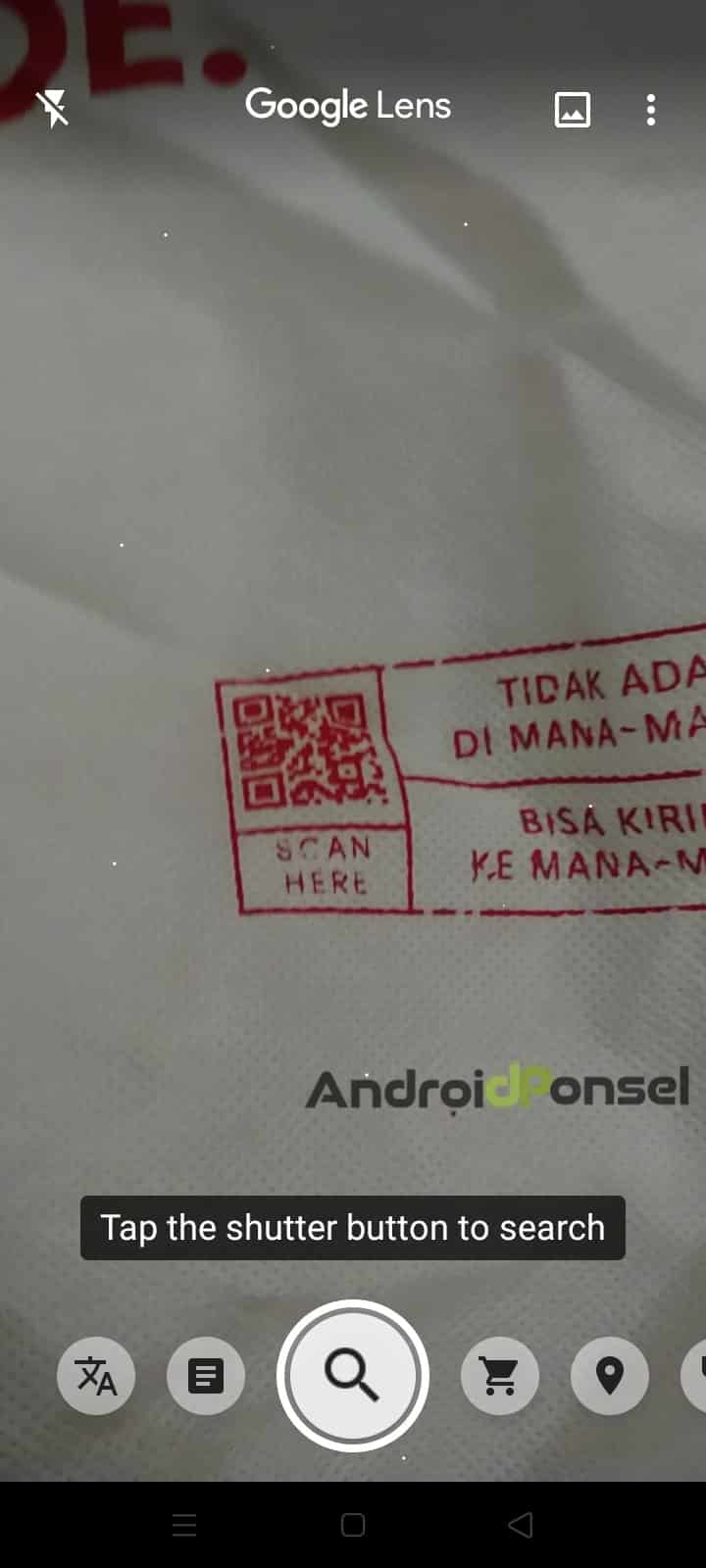 Cara Scan Barcode pada Handphone Android