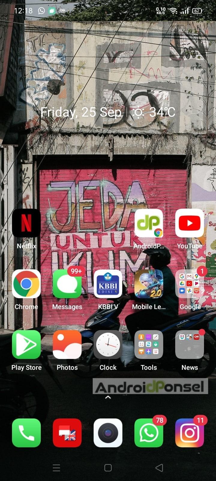 Cara Ganti Background Foto di HP Android