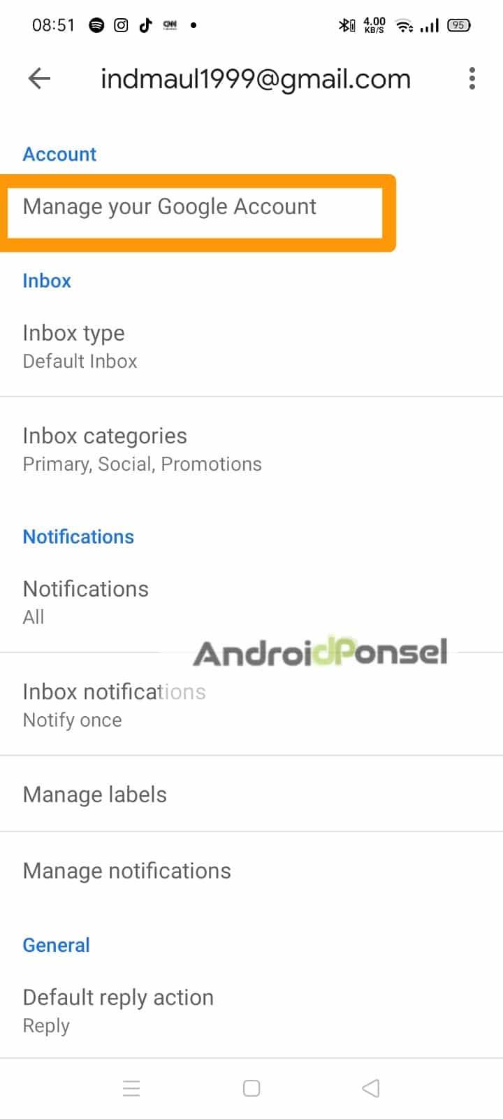 cara ganti nama email dan profile