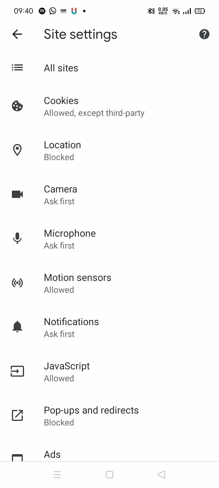 Cara hilangkan Iklan di hp android
