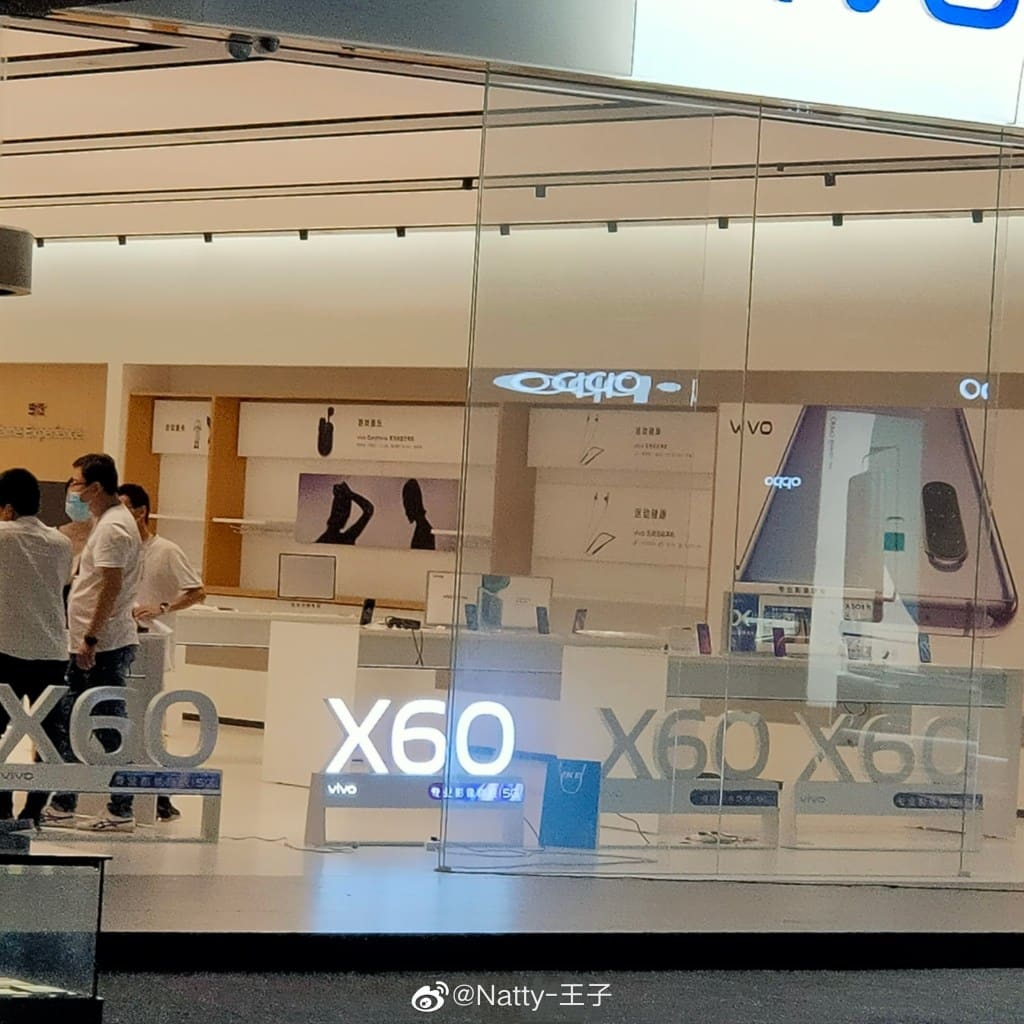 Vivo X60 Muncul dalam Billboard di Toko Offline, Apakah Pertanda Peluncurannya?