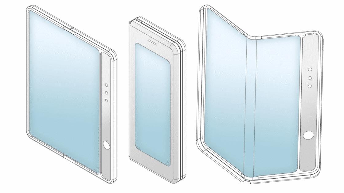 Konsep Ponsel Layar Lipat Xiaomi