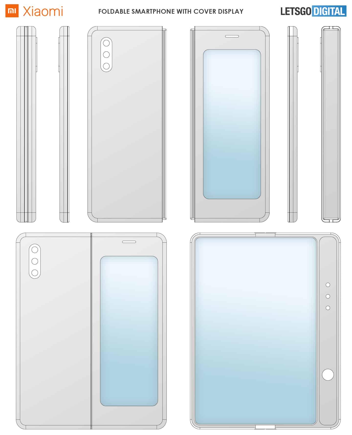 Ponsel Layar Lipat Xiaomi mirip dengan Samsung Galaxy Fold?