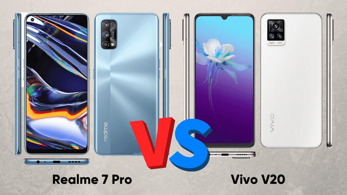 Perbandingan Realme 7 Pro vs Vivo V20