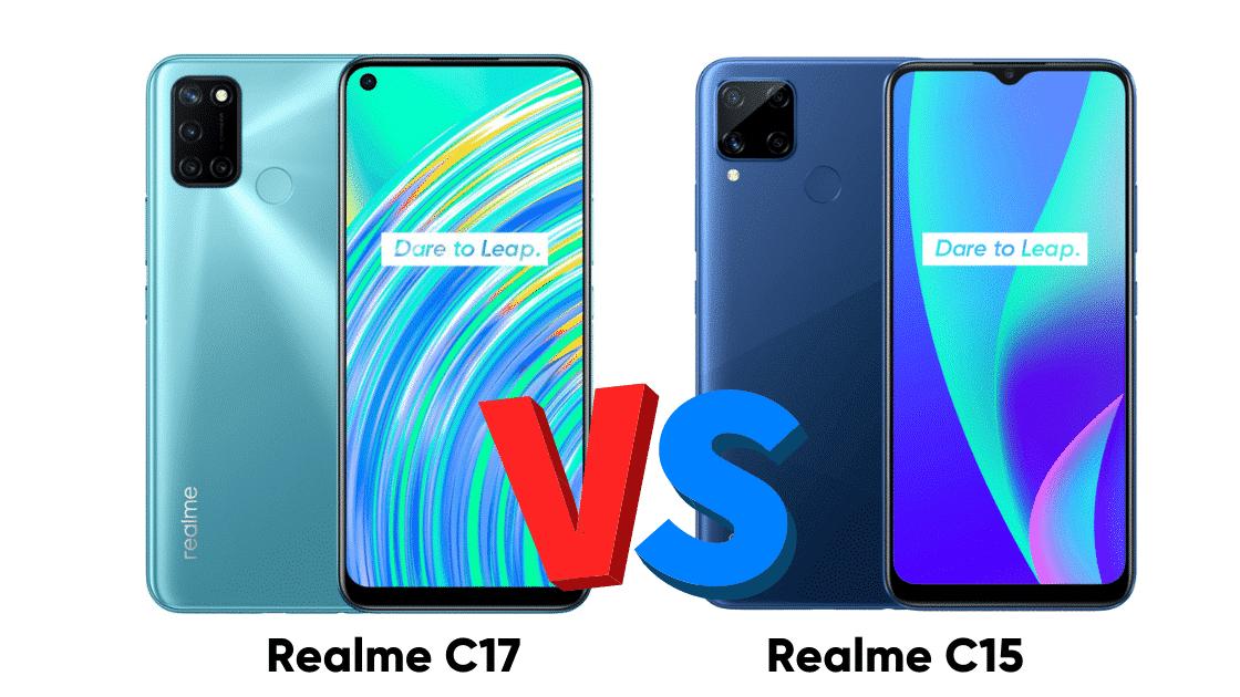 Perbandingan Realme C17 vs C15