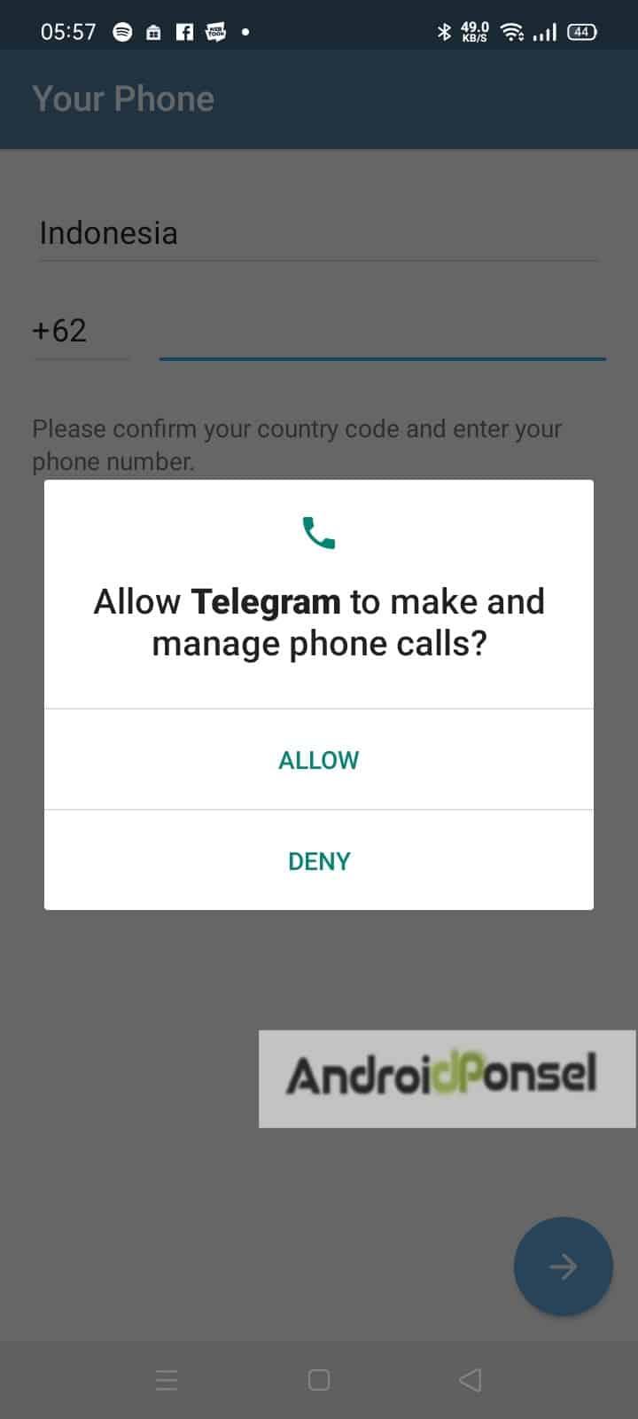 Cara Nonton Film di Telegram Android