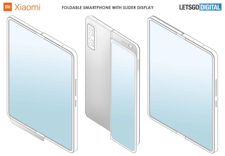 Konsep Ponsel Layar lipat Xiaomi Hadir dengan Kombinasi Slider