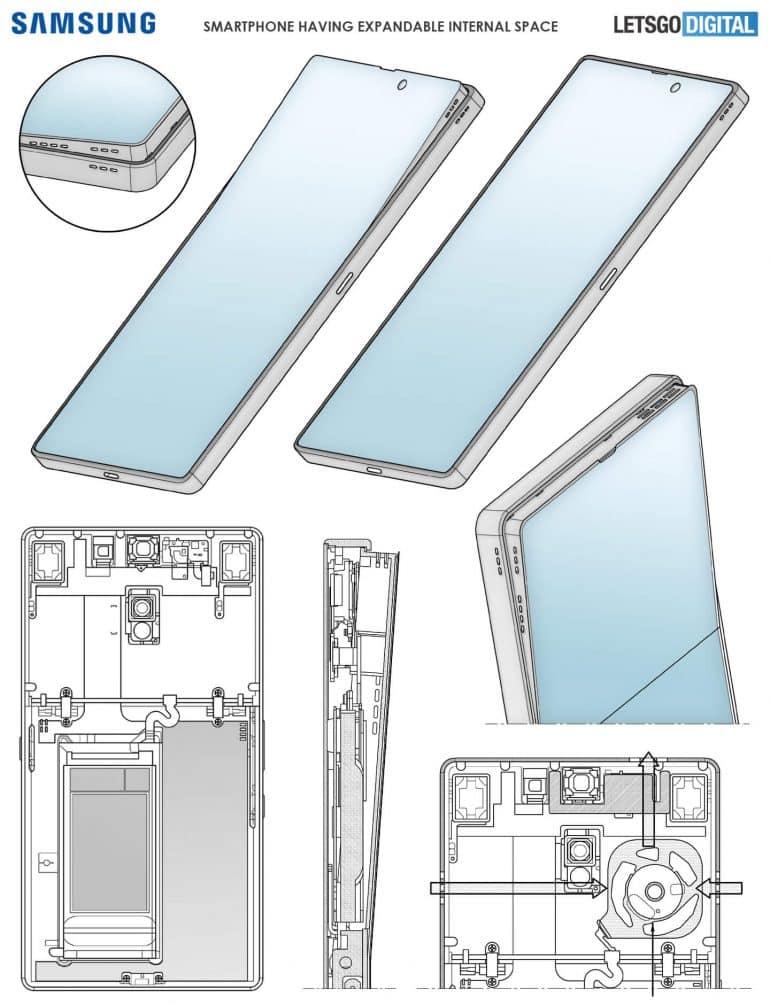Desain Samsung Galaxy S-series Menggunakan layar Fleksibel dengan speaker Berkualitas Tinggi