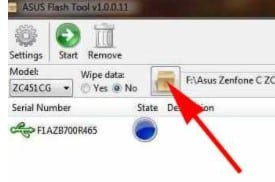 Flash Asus Z007