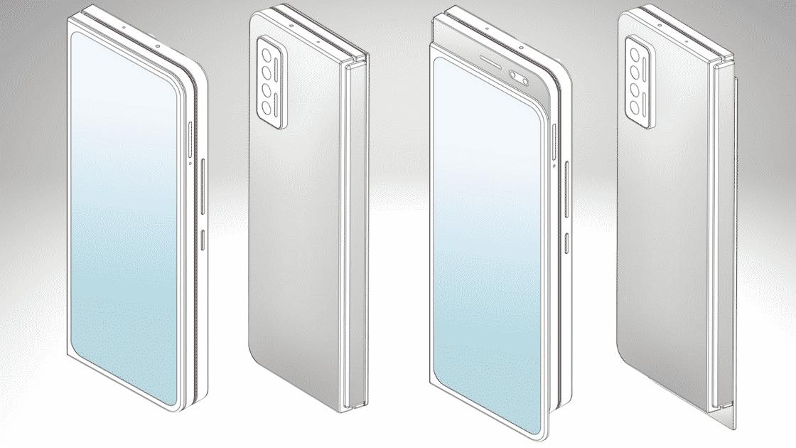 ponsel layar lipat dan slider dari Xiaomi