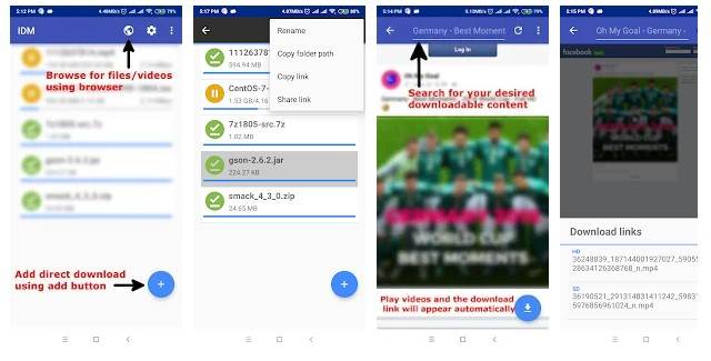Software IDM Untuk Android