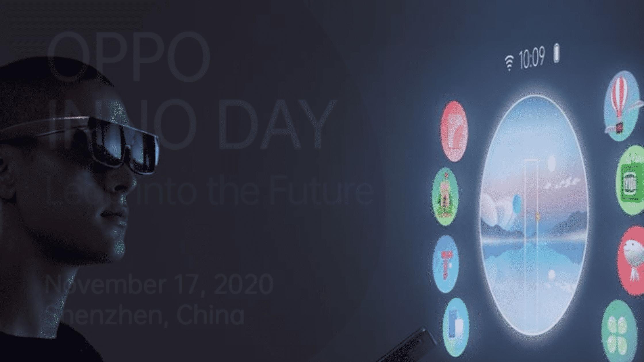 Kacamata AR Oppo AR Glass 2021
