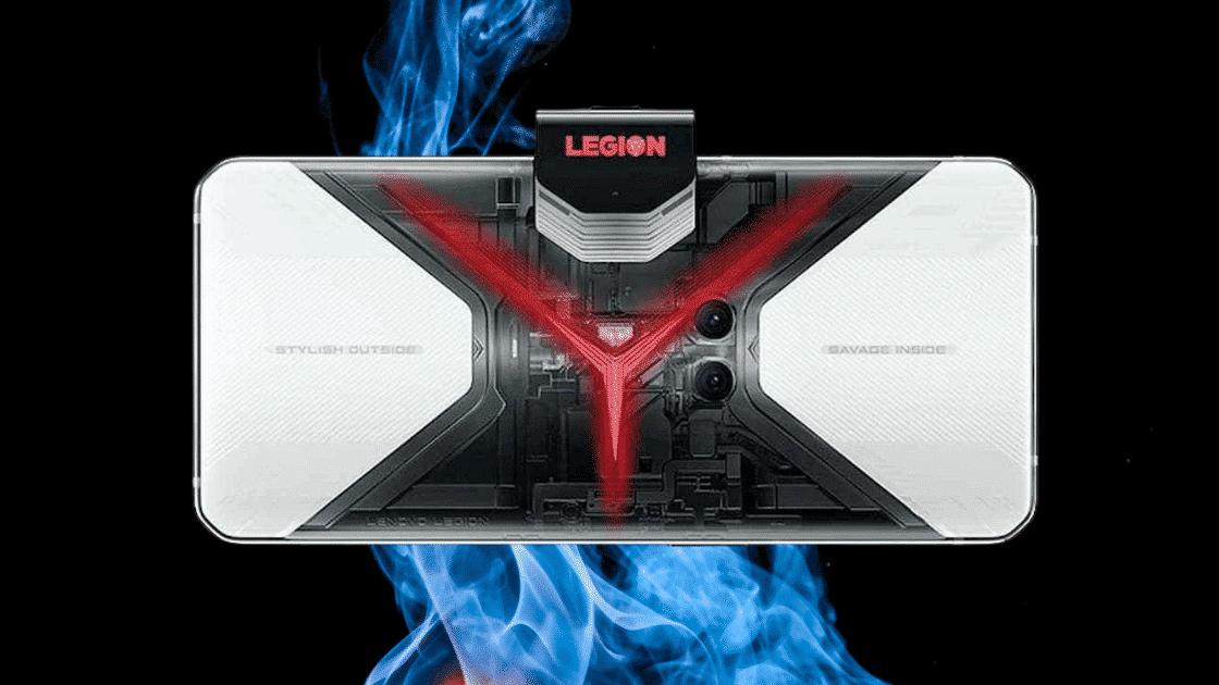 Lenovo Legion Phone Pro Edisi Transparan