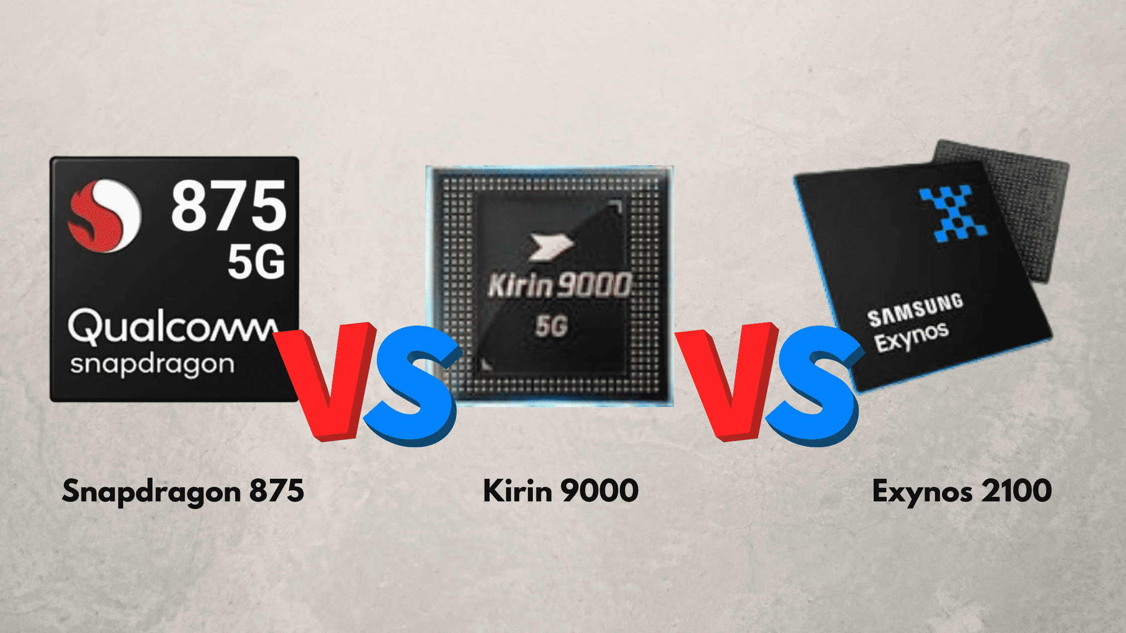 Perbandingan Snapdragon 875 vs Kirin 9000 vs Exynos 2100