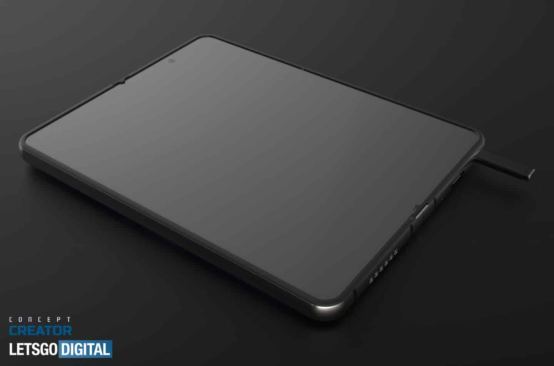 Galaxy Z Fold 3 Dengan S-Pen