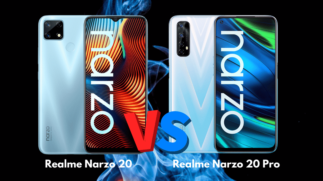 Realme Narzo 20 vs Narzo 20 Pro
