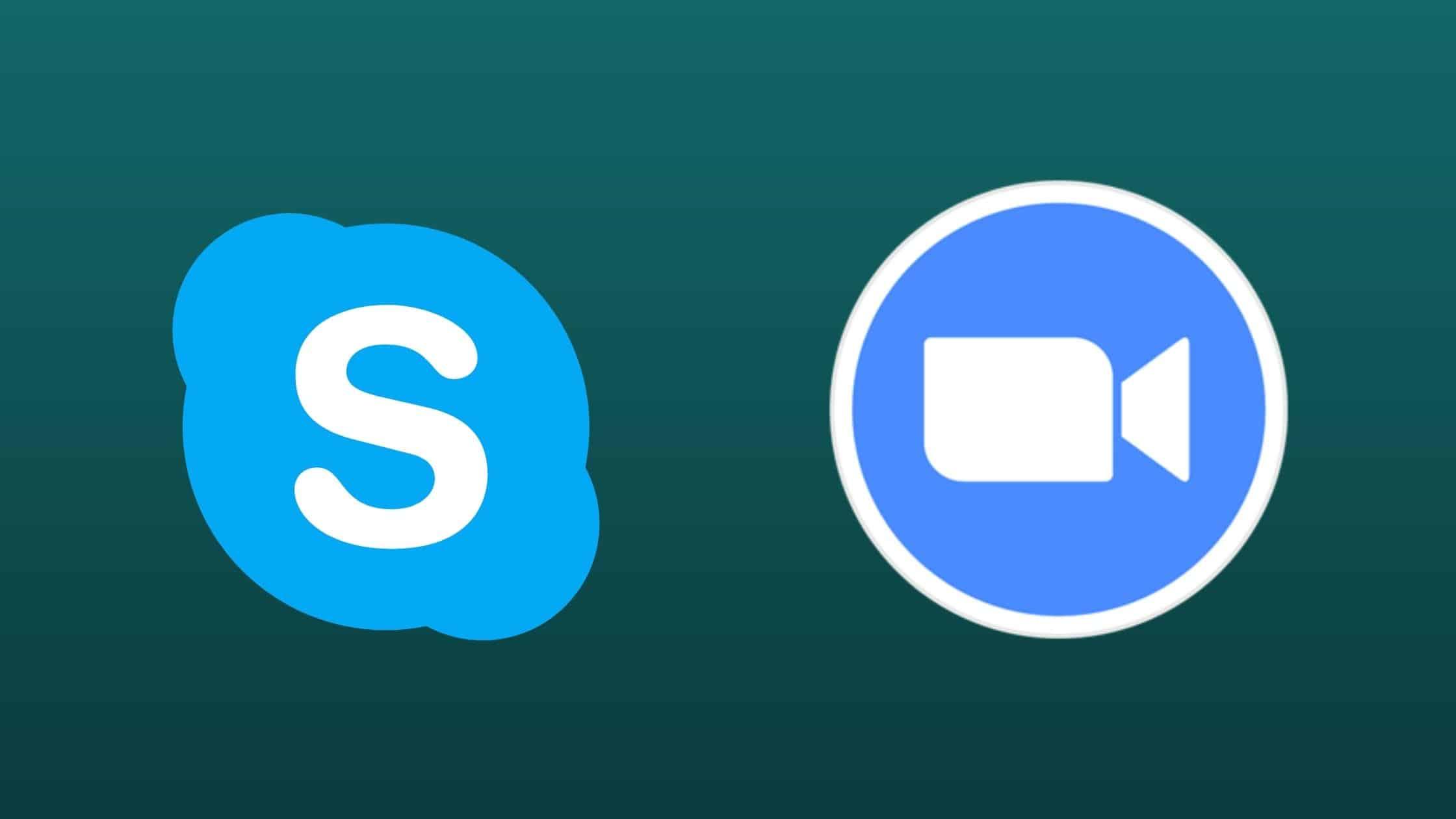 Skype dan Zoom