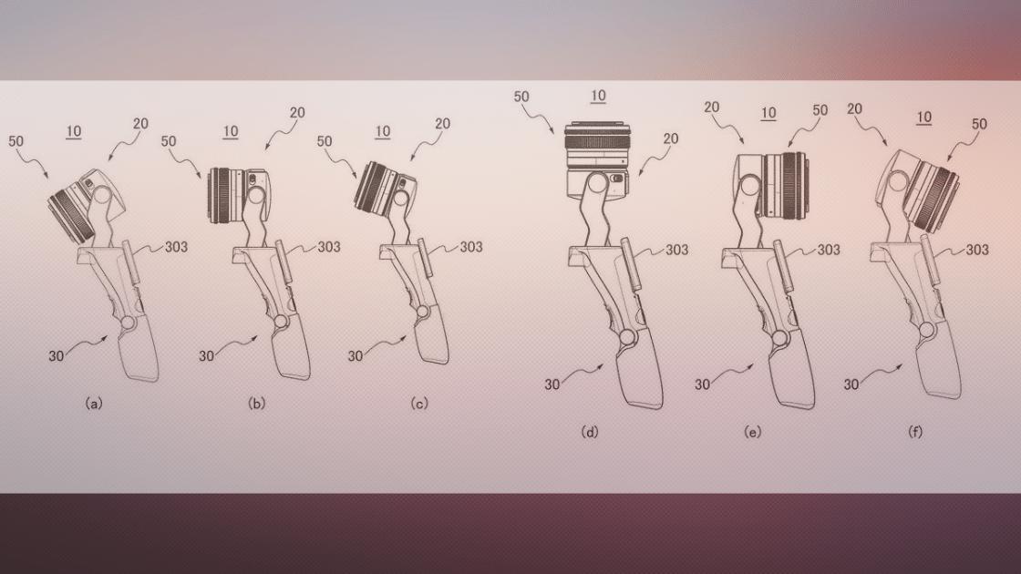 Canon Patenkan Konsep Gimbal Dengan Sistem Lensa yang Dapat Ditukar
