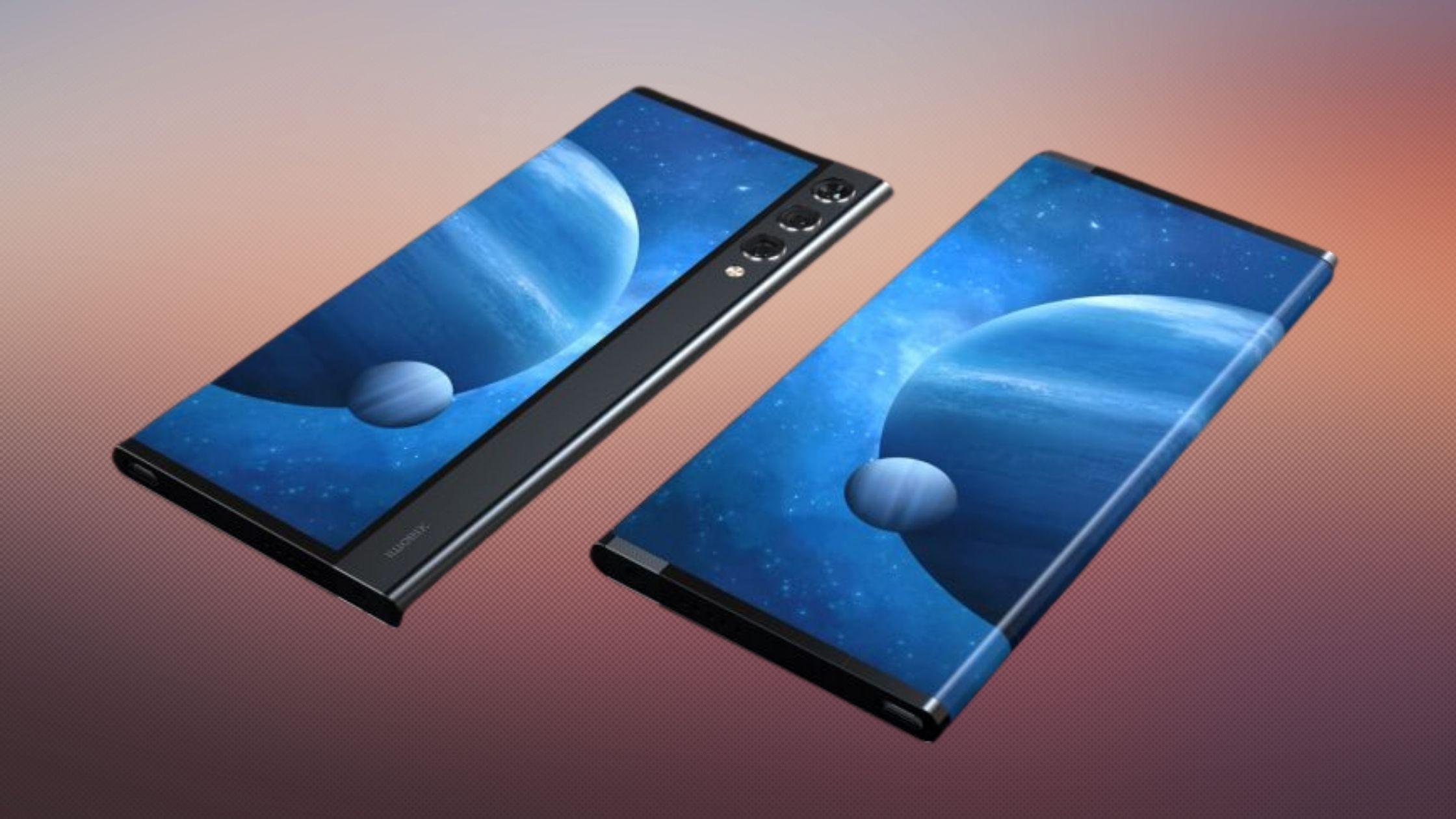 Ponsel Xiaomi layar dapat di tarik (1)