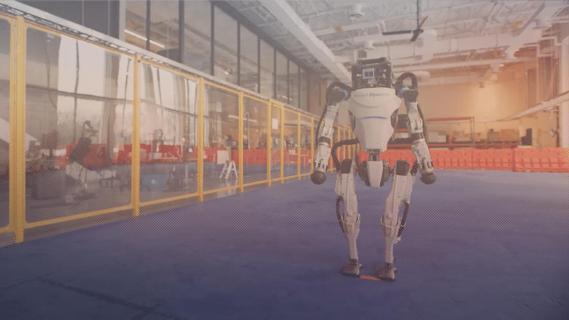 Robot Boston Dynamics Berdansa