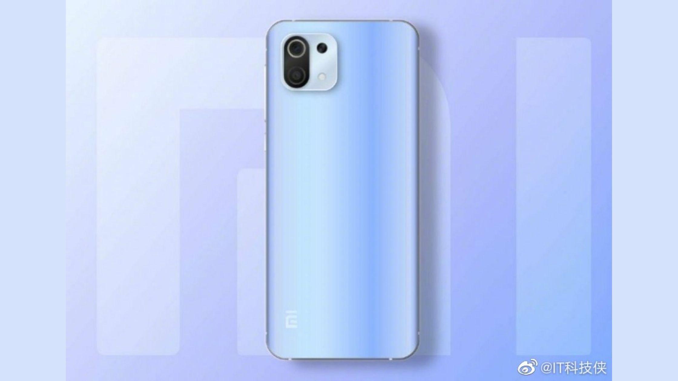 Render Xiaomi Mi 11