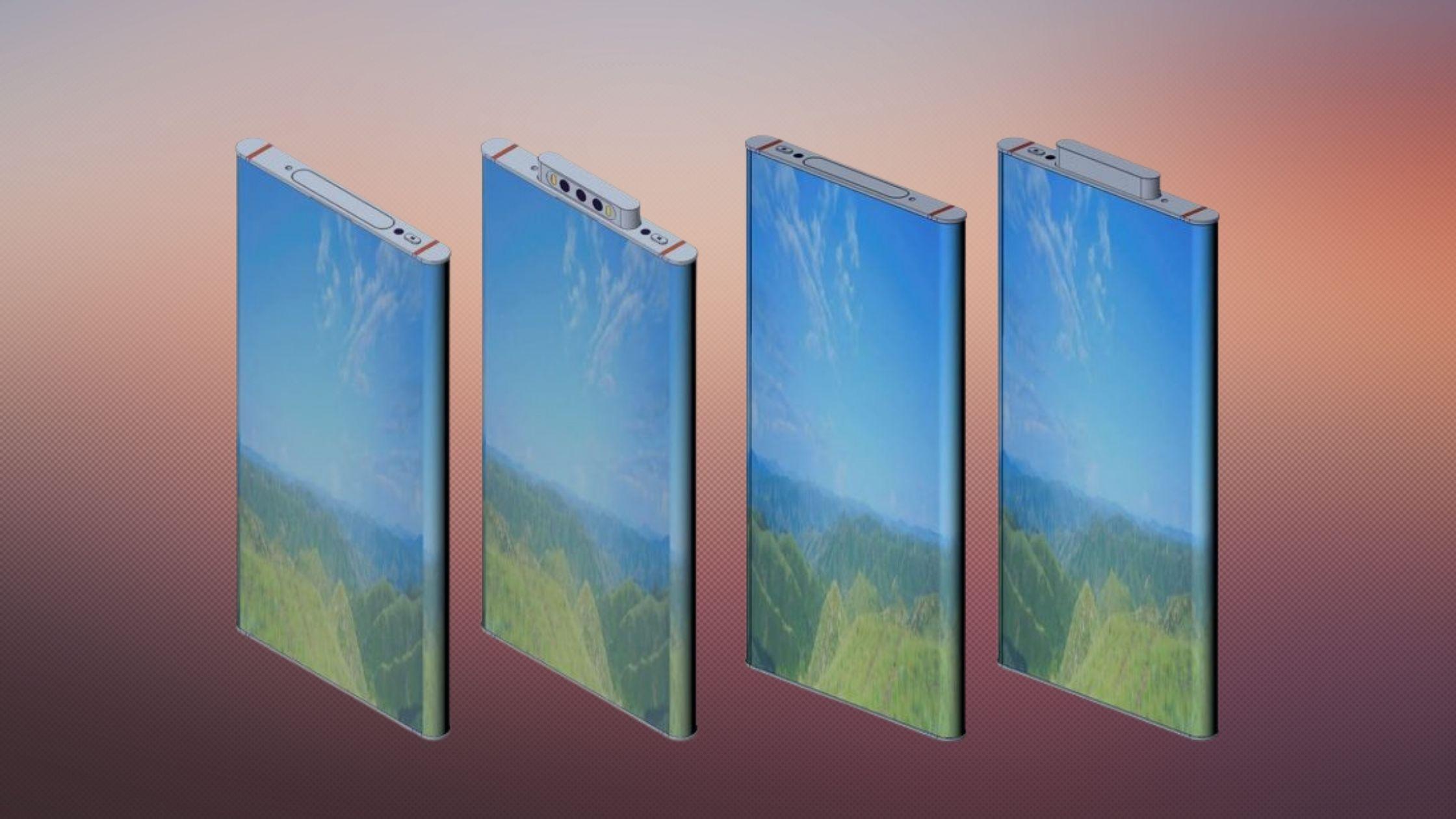 Xiaomi Punya Konsep Smartphone Penerus Mi Mix Alpha dengan Layar Surround