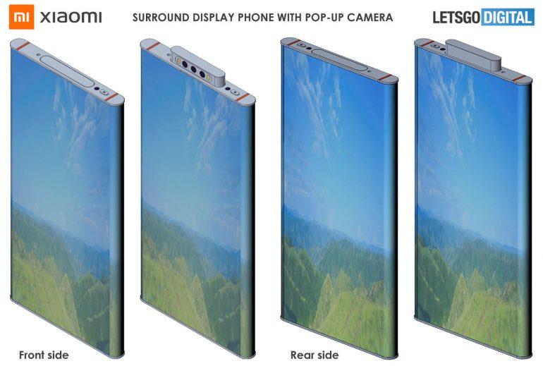 Xiaomi Punya Konsep Smartphone Penerus Mi Mix Alpha dengan Layar Surroung