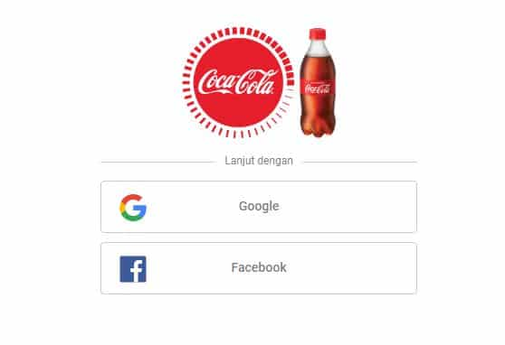 Grivy App Coca Cola, Cara Mendapatkan Coca Cola Gratis