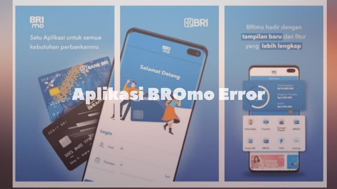 Aplikasi BRImo Error
