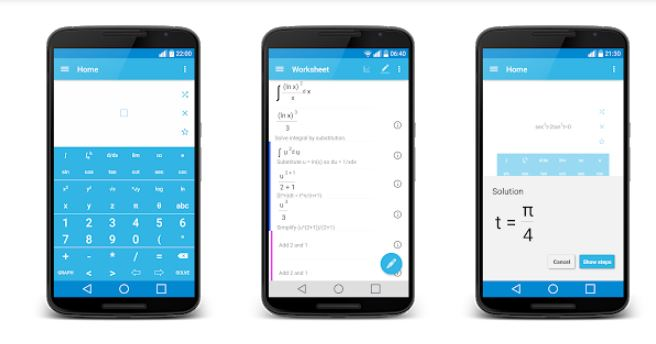 Aplikasi Malmath aplikasi untuk mengerjakan soal matematika