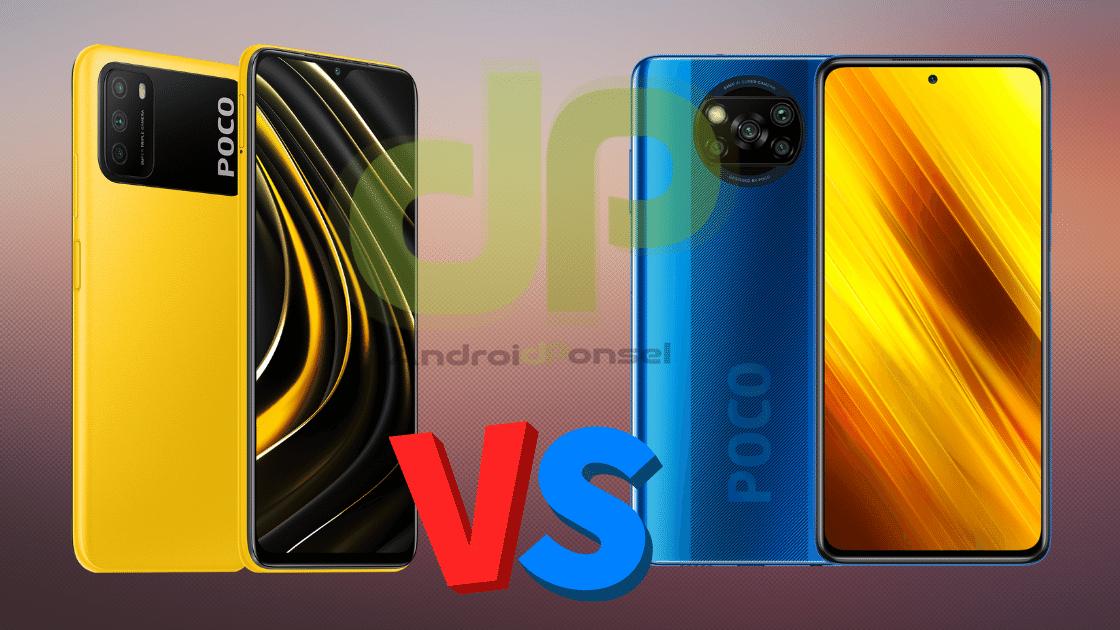 Perbandingan POCO M3 vs POCO X3 NFC