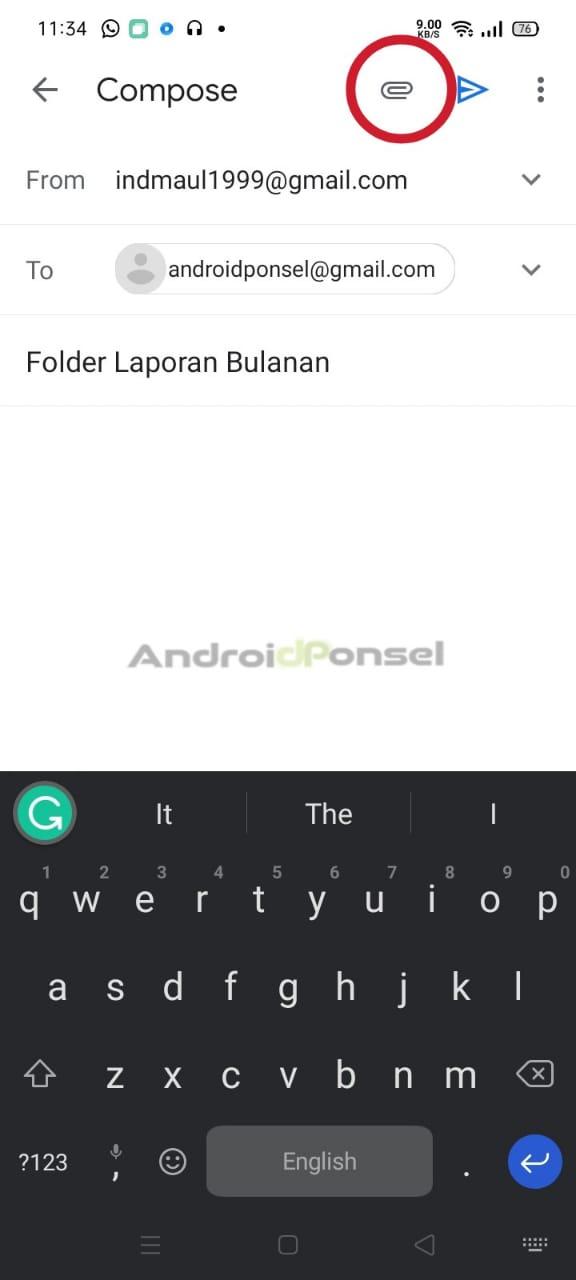 Cara Mengirim Folder di Email Dengan Mudah