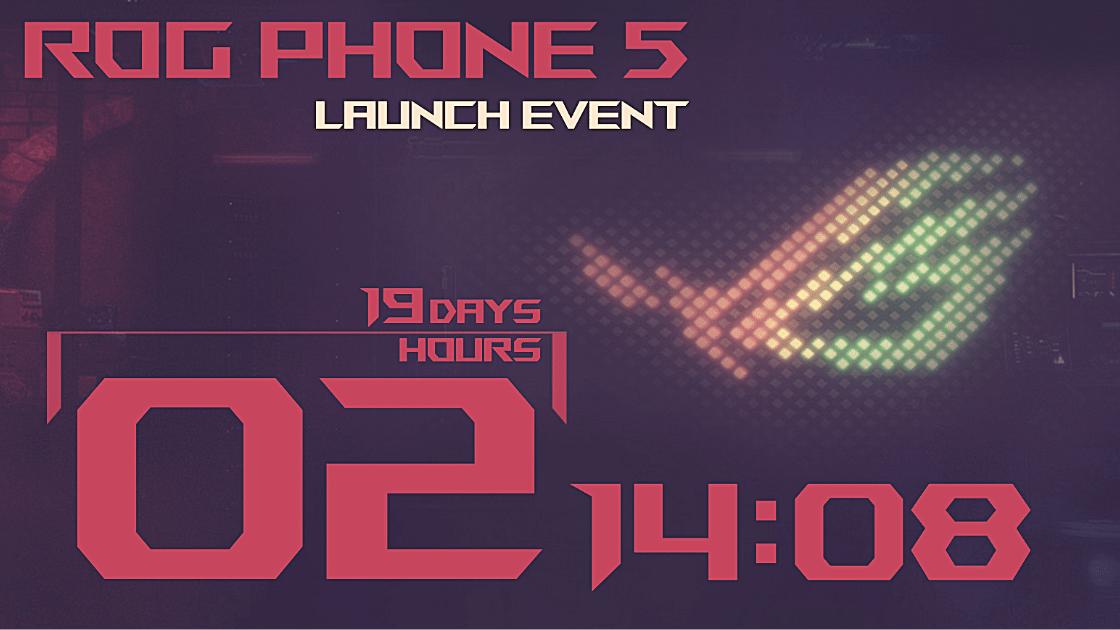 ASUS ROG Phone 5 Akan Diluncurkan pada 10 Maret