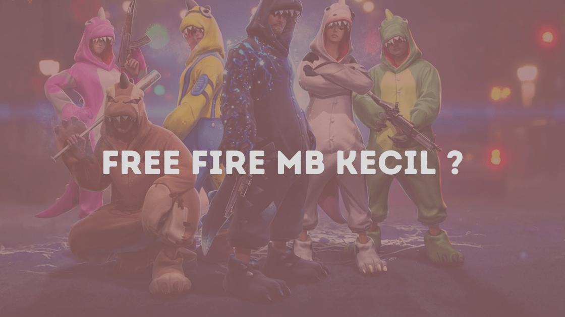 Download Free Fire MB kecil