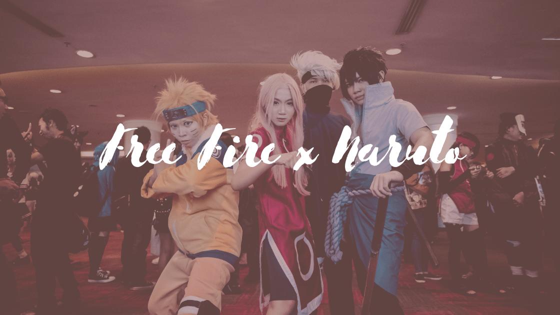 Free Fire x Naruto