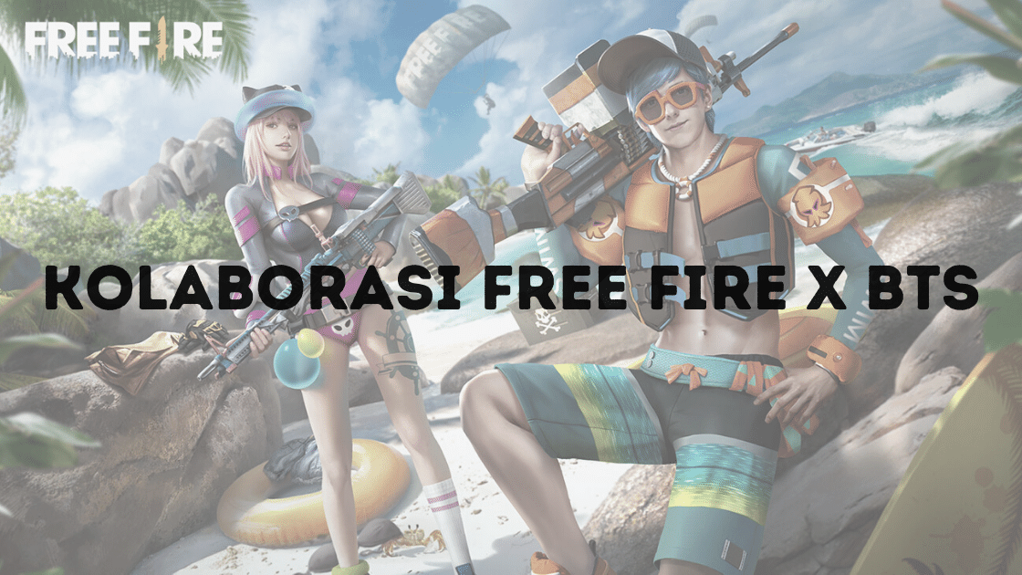 Kolaborasi Free Fire x BTS