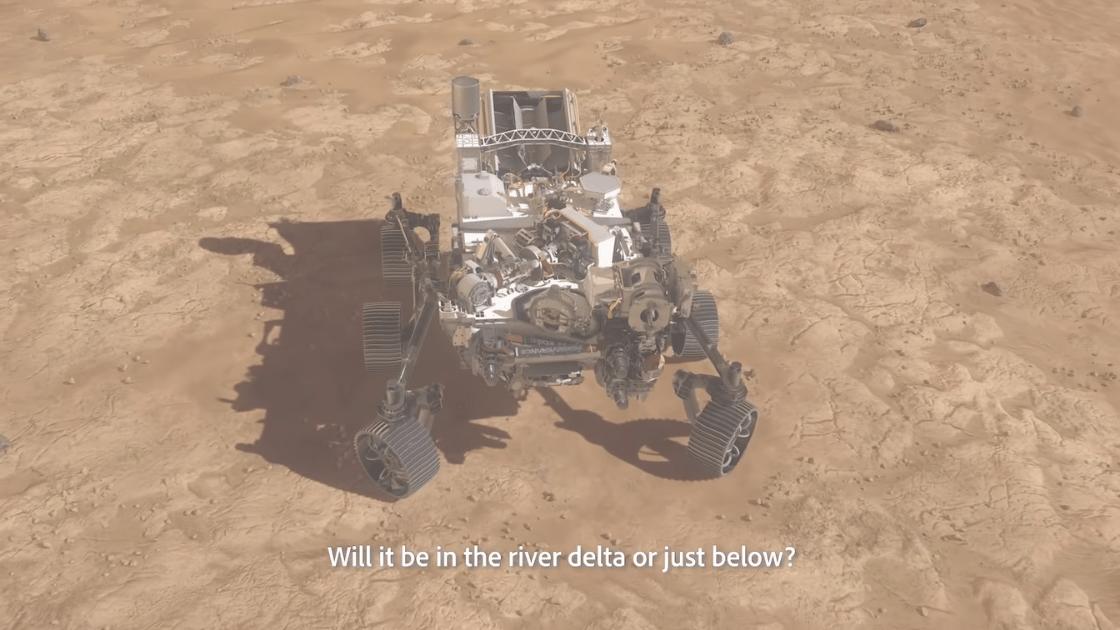 Penjelajah Perseverance Mars