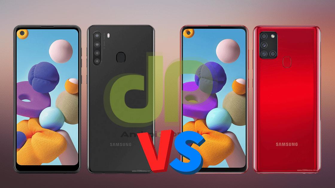 Perbandingan Samsung A21 vs A21s