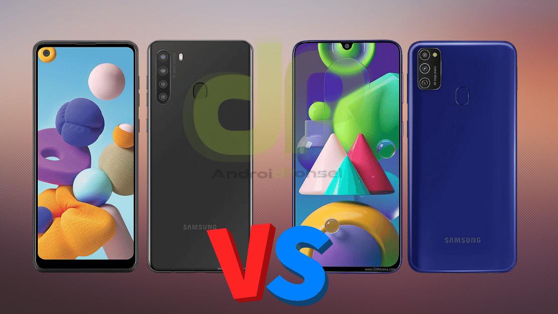 Perbandingan Samsung A21 vs M21